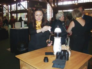 Maille Mustard on Tap at the Culinary Expo