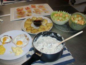 Vegetarian Breakfast 10-1-13