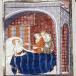 14th Cent. Sickbed