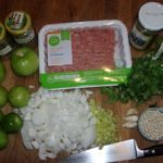 Tomatillo Chili ingredients