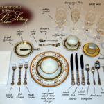 Traditional Formal Place Setting