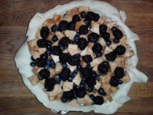 Apple Berry Gallette