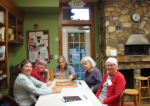 Cooking Scrabble after cooking class with Chef Christy