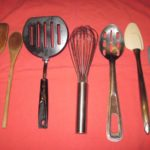 Spatulas, Spoons and Whisk for Two