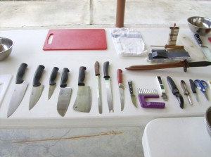 Knife Skills Knife Display - sm