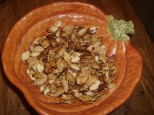 Maple Spice Pumpkin Seeds