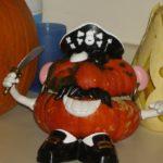 Mr. Potato Head Pirate Pumpkin
